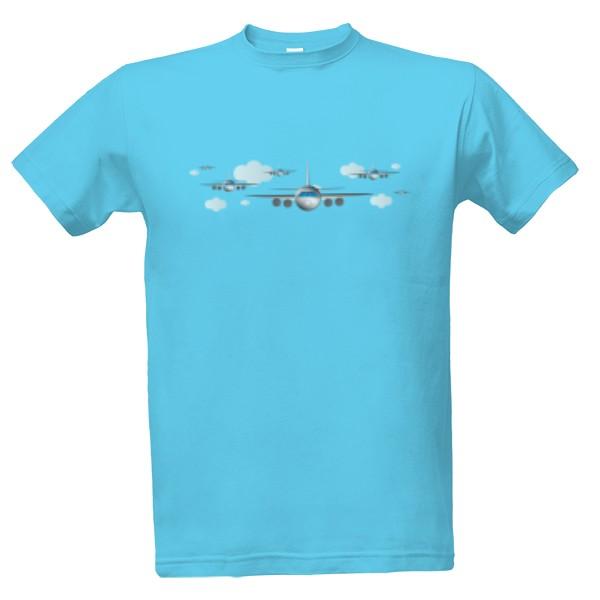 Tričko s potiskem Letec