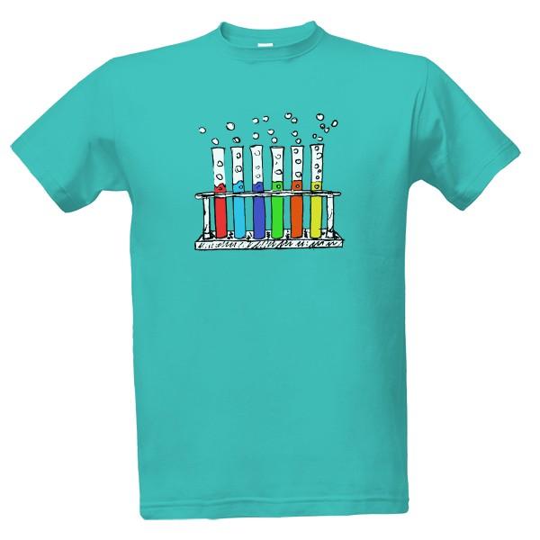 Tričko s potiskem chemik