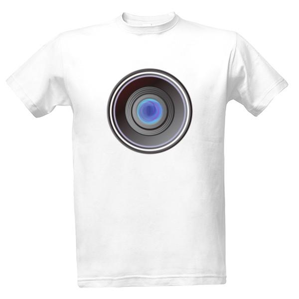 Tričko s potiskem fotograf